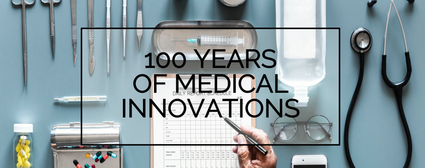 BLOG | 100 Years of Medical Innovations
